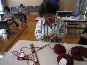 編みもの講座