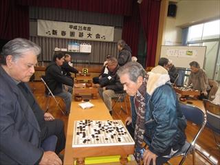 新春囲碁大会